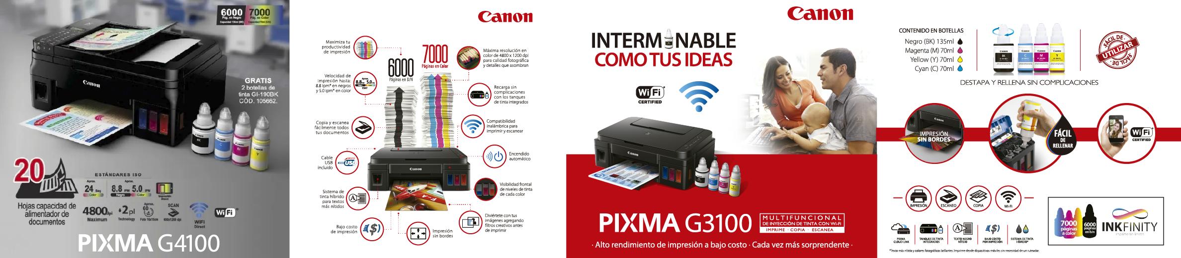 Canon - Línea Pixma