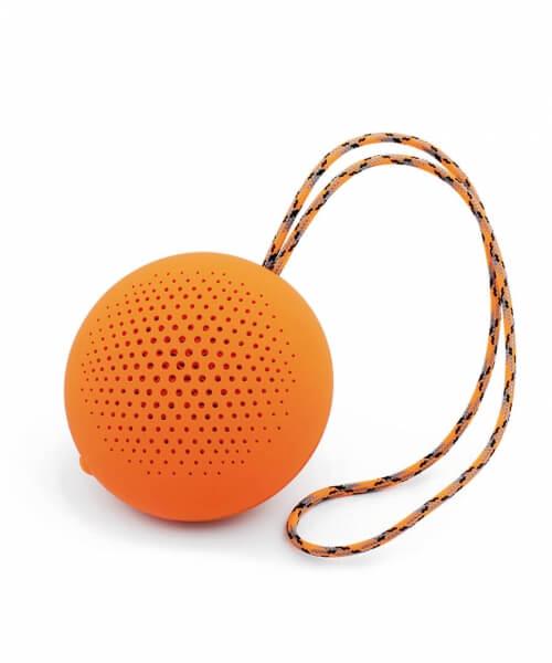 Parlante Boompods Rockpod  White - Orange