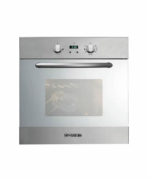 HORNO MULTIGAS HXRTS18 60 x 60, doble visor, luz, encendido y grill eléctrico eléctrico, reloj digital, termostato, spiedo, vidrio espejado, acero inoxidable,autolimpiante