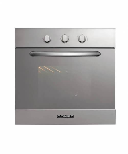 HORNO ELECTRICO HEX18 60 x 60 , doble visor, luz, grill eléctrico, termostato, timer, vidrio espejado, acero inoxidable, autolimpiante