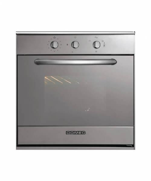 HORNO MULTIGAS HX16 Reflex 60 x 60, doble visor, luz, encendido y grill eléctrico eléctrico, timer, vidrio espejado,  acero inoxidable