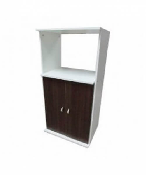 Gabinete Microondas - 2 puertas - 1 cajon