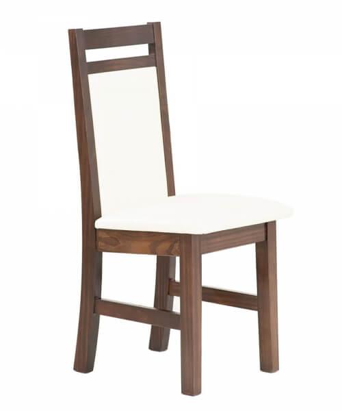Silla ancha con asiento y respaldo tapizados en Jackard de 0,99m alto x 0,55m ancho x 0,54m profundidad