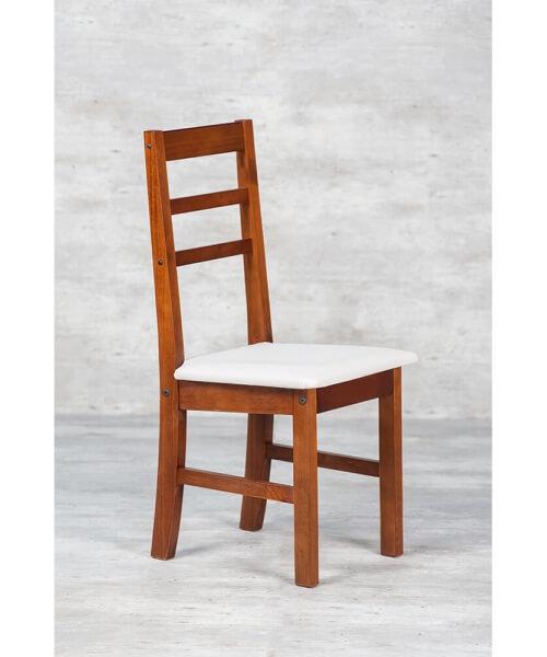 Silla  Desarmable  Barbi con asiento tapizado.