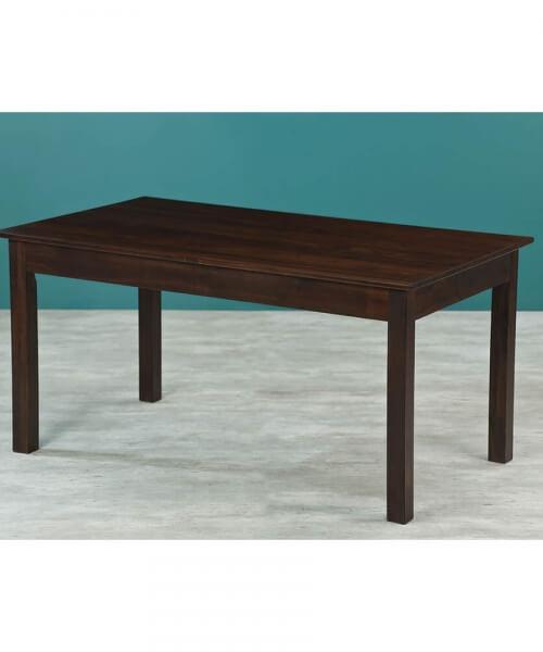 Mesa de 1,60m x 0,90m con tapa maciza y patas rectas de 3´´ x 3´´