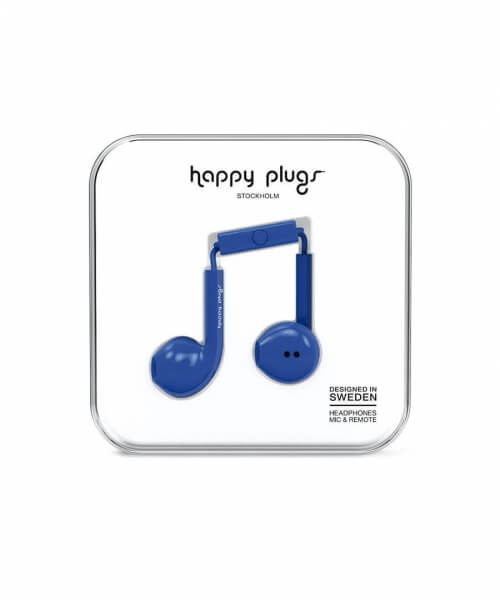Happy Plugs Earbud Plus Cobalt