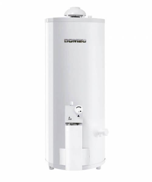 TERMOTANQUE  TH6-80N Gas Natural, 80 litros, de pie, conexión superior, sensor detector de gases, blanco