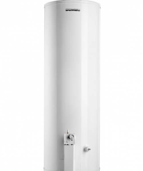 TERMOTANQUE  TH6-120N Gas Natural, 120 litros, de pie, conexión superior, sensor detector de gases, blanco